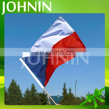 Wholesale Good Quality Polyester Custom Printing Hand Held Waving Flags
