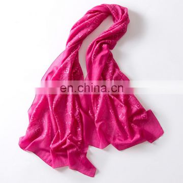 Italy thicken embroidered knitted plain solid colors pashmina cashmere shawls scarf