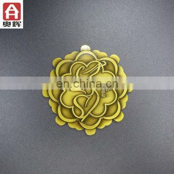 Hot sale new design wholesale wooden medal