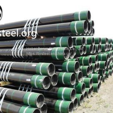 K55 casing pipe with BTC thread/connection with good quality