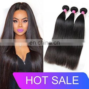 Brazilian hair human hair straight wave hair extension