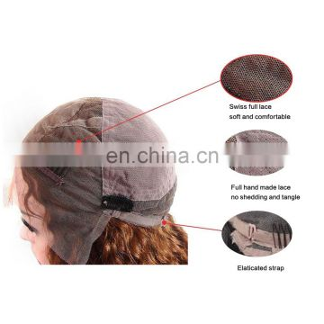 Wholesale human hair full lace wig,virgin brazilian hair wig,100% unprocessed brazilian human hair wig