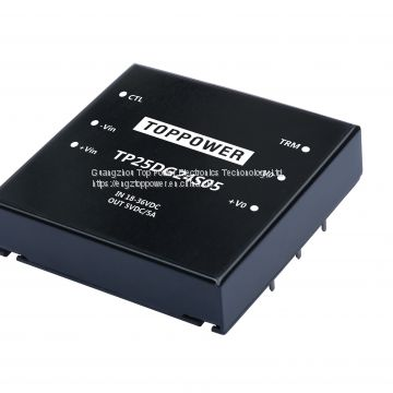 25W Isolated  DC/DC Converters TP25DG