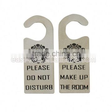 hot sell custom shape printed iron welcome signs christmas door decor hanger