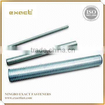Galvanized zinc, hot galvanized, black oxide , plain b7 threaded rod specs