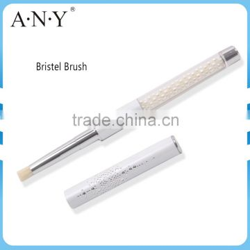 ANY Newest White Pearl Design Beauty Brush Professional Bristel Brush