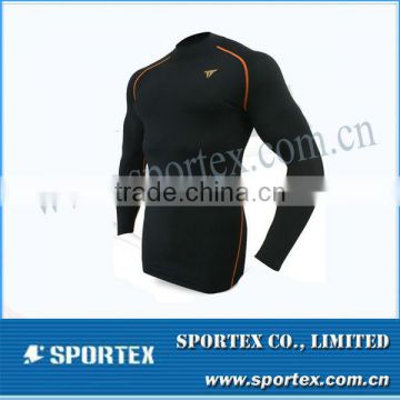 OEM compression clothes / long sleeve tight shirt / men's compression sportswear for men