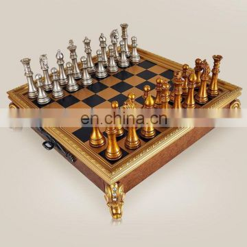 resin and wooden chess make from China