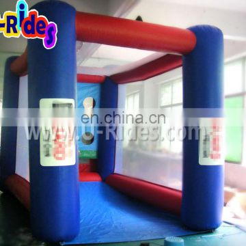 inflatable football toss