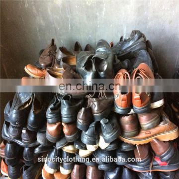 used shoes men casual fairly used flat leather shoes for African wear