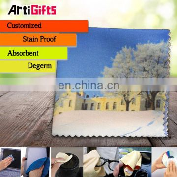 Factory manufacture microfibre glass cleaning cloths