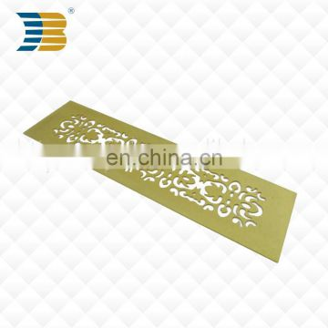 Wholesale Customized brass etching stainless steel bookmark