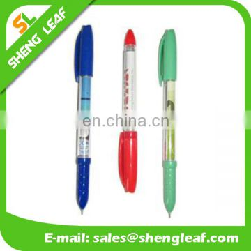 Gel ink refill transparent banner ballpens