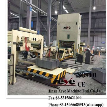 ZEYE ZCL2.5X2000 Decoiler-straight-cut to length line