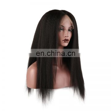 2017 hot sale brazilian hair natural hair wigs lace front wig