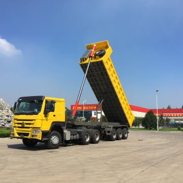 3 axle 80 tons tipper trailer for sale