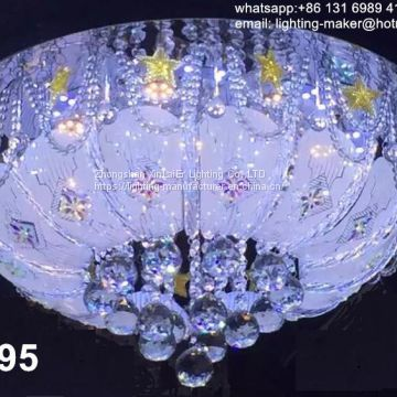 ceiling LED crystal lamp, Chandelier lighting with crystal ball