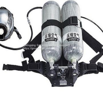 SELF-CONTAINED SCBA AIR BREATHING APPARATUS FOR FIRE FIGHTHING