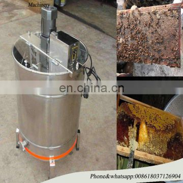 Automatic Honey Extractor 3 Frame with Plastic Honey Gate 304 Stainless Steel Honey Bee Extractor Electric