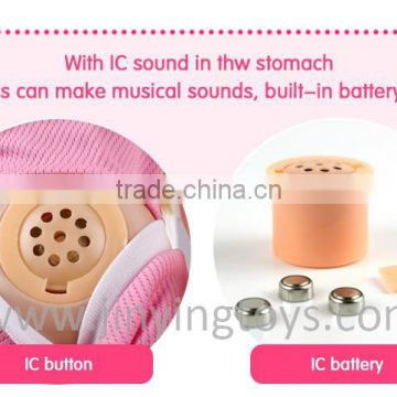 18 inch silicone doll with IC sound