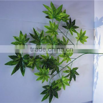 Home and outdoor garden table wedding christmas decoration 60cm or 2ft Height artificial colorfully maple leaf E06 0604