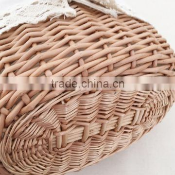 Wholesale handmade wicker market basket
