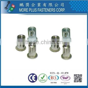 Taiwan Stainless Steel Multi Stage Rivet 6mm Rivet Custom Leather Rivets