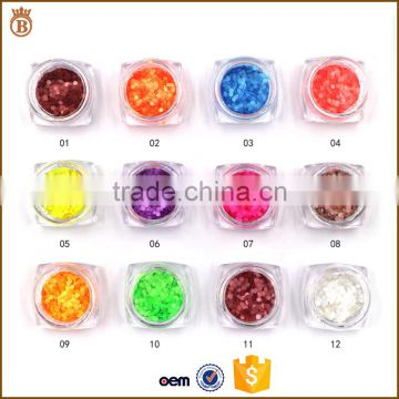 Candy Color Mixed Nail Art Glitter Powder Nail Sequins