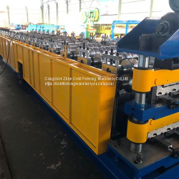 Corrugated Double Liner Metal Roof Tile Roll Forming Machine