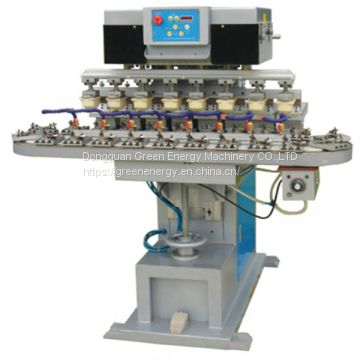 M8C multicolor pad printing machine with conveyor