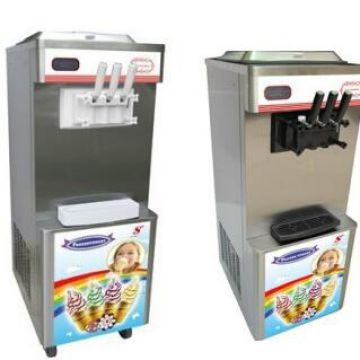 Over Current Protection Continuous Dispensing Soft Serve Ice Cream Machine
