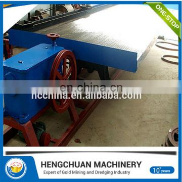 China Supplier Gold Gemini Shaking Table For Sale