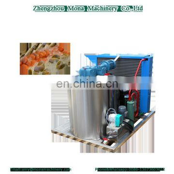 Flake ice machine for food preservation/Industrial flake evaporator for sale