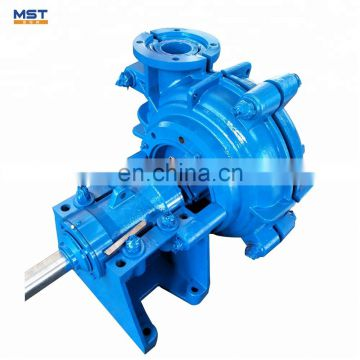 Semi-open Impeller Electric diesel fuel rubber lined pump