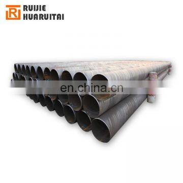 Penstock Pipe SSAW Spiral Steel Pipe Large Diameter Pipe for Hydropower Projects