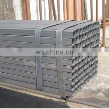 china manufacturer 19x19 black carbon steel rec tube