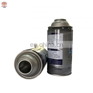 Wholesale high pressure empty  aerosol spray refrigerant  gas  can r134a