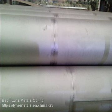 Supplier TIG Titanium welded tube  of ASTM B862 Titanium pipe