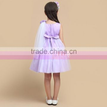 3-14 Year Old Girl Dress Latest Fashionable Children Birthday Party Dresses for Baby Kids