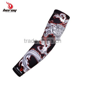 BEROY cycling arm warmer,bike accessories,sun uv protective compression arm sleeve with custom logo