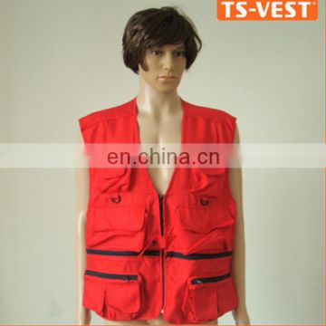 Hunting EL Safety Red Safety Jacket