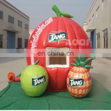 cute fruit booth inflatable tent