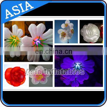 Fashional Wedding Stage Decoration Lighting Inflatable Flower