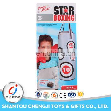 Hot sales sport toys 2 in 1 punching bag boxing with music