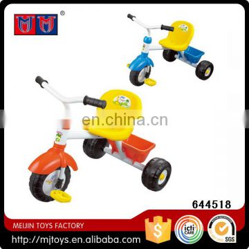 Children tricycle with trunk