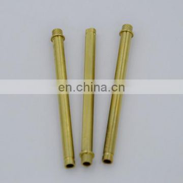 Brass gold plated computer pin connector