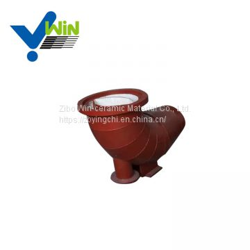 Heating resistance al2o3 catalyst ceramic lined pipe steel pipe