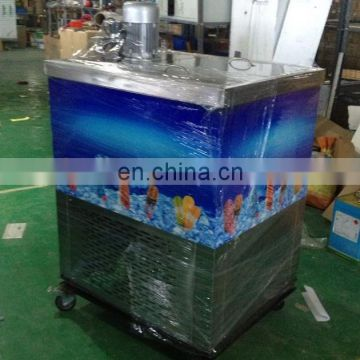 Commercial Air Cooling Block ice block machine pop ice popsicle making machine