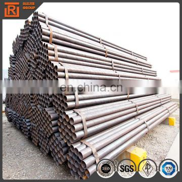60.3mm diameter thickness 3mm low carbon structure steel pipe, black welded steel pipe ss400