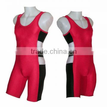 low price sleeveless youth cheap sublimated wrestling singlets for sale                                                                         Quality Choice